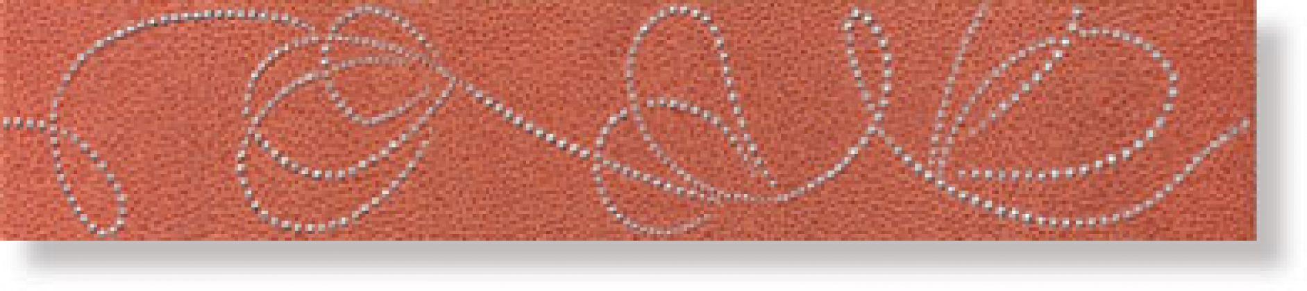 Бордюр В7155/7037 Фристайл Коричневый 9x50