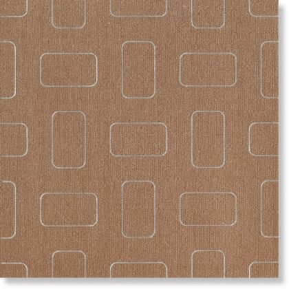 Light Amber Brown Inserto Pattern nat. 45x45