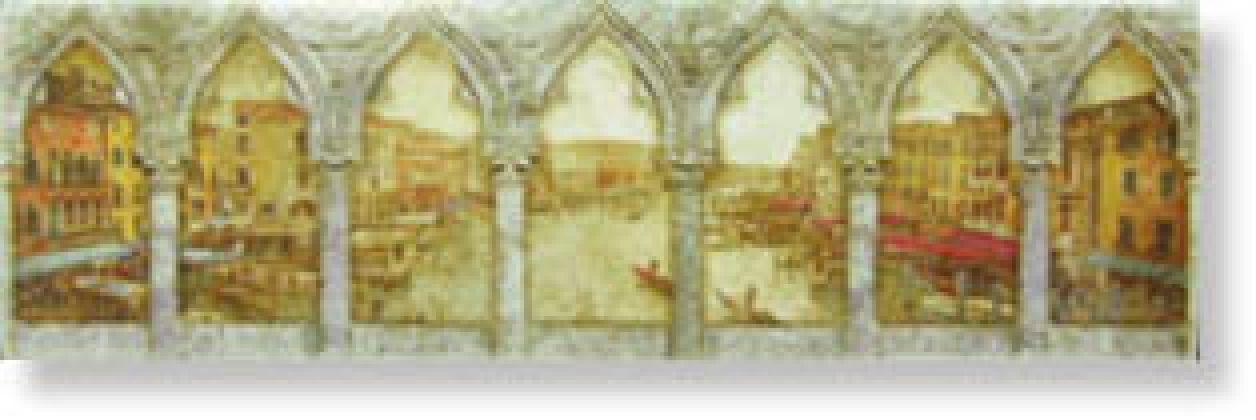 Бордюр List. Venice 7x23