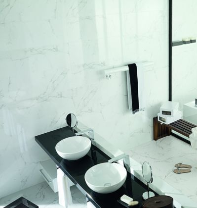 Плитка Marmol Carrara Marfil 31x90