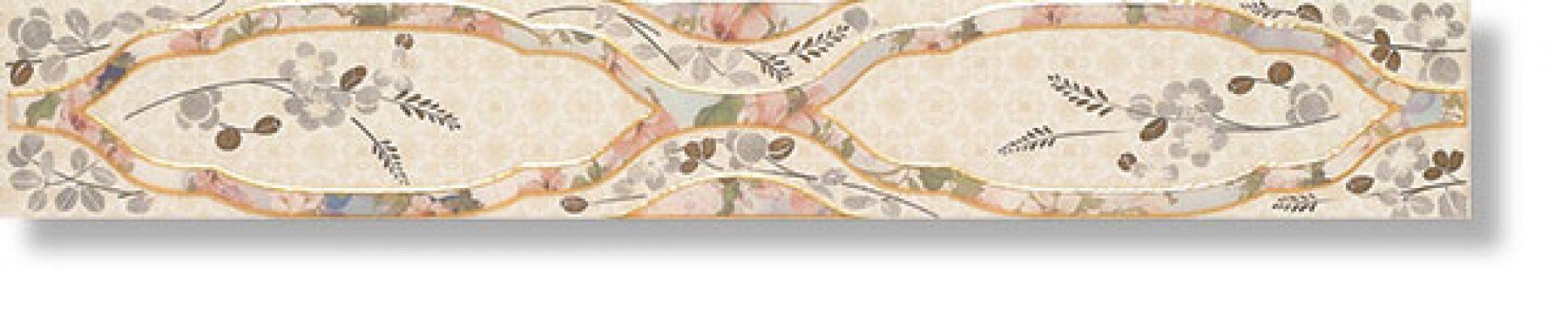 Бордюр Cenefa Sakura Beige 7x50