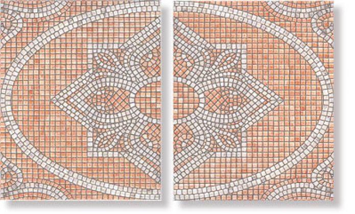 Декор А1419/2000 Савойя Желто-Коричневый 20x25