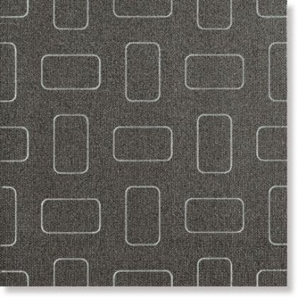 Light Dark Black Inserto Pattern lap. 45x45