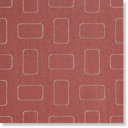 Light Bright Red Inserto Pattern lap. 45x45