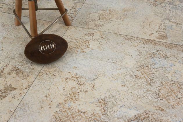 Carpet Sand Hexagon 25x29