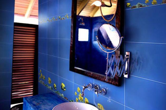MONO MAK Панно (3 шт.х27,5х40) синее BL 27,5x120