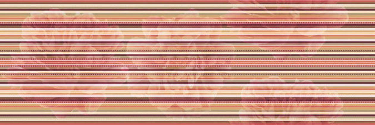Decor Lines Savage Flowers Marron 15x45