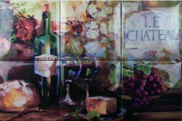 Wine Picture 6pz 15x15
