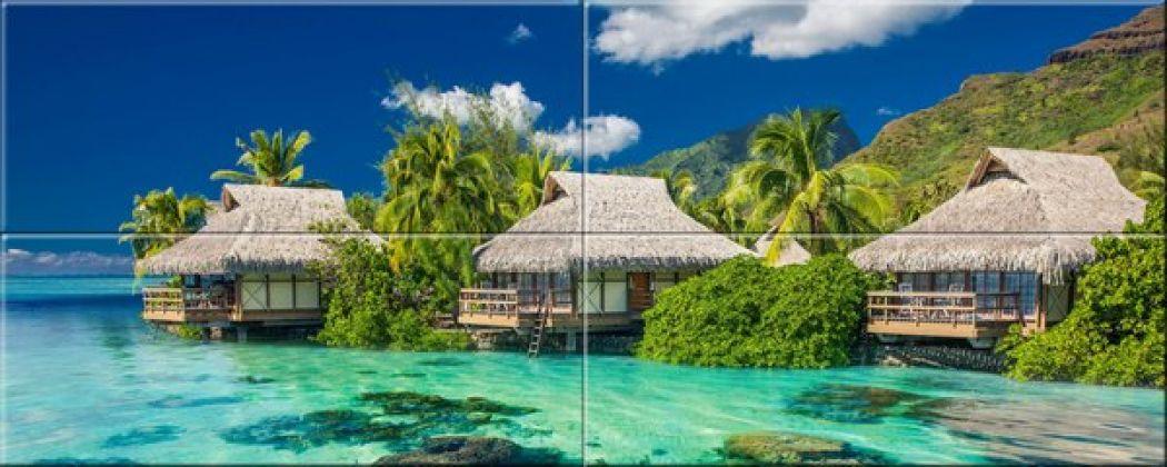 Мальдивы 40x100