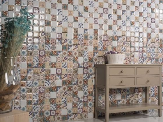 Mosaico Damero 20x80