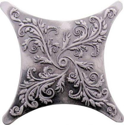 Estrella Plox Satined 1704 E1 Black Silver 6x6