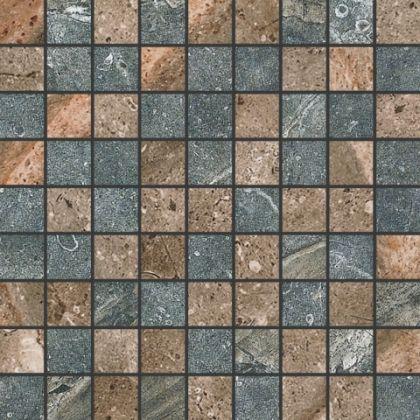 Mosaic Brown/Dark Grey 30,7x30,7