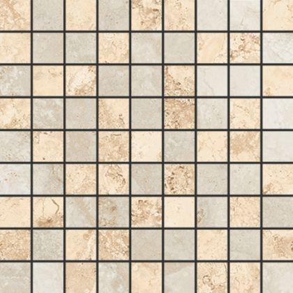 Mosaic Light Beige/Light Grey 30x30