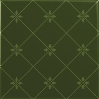 Delis Verde Botella 20x20