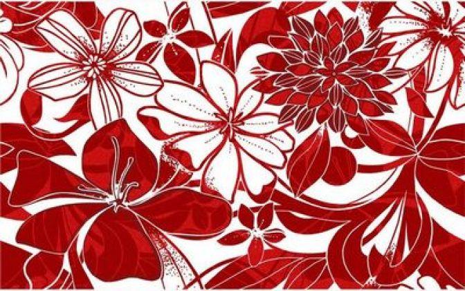 Жаклин красный 25x40