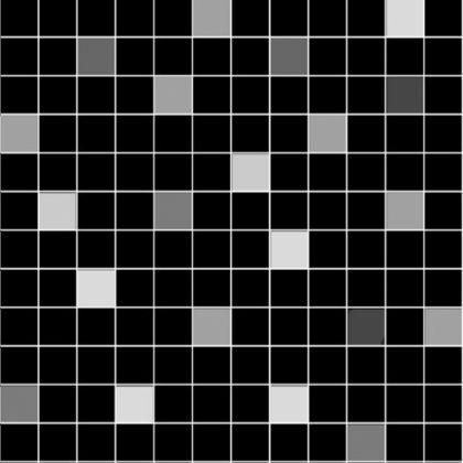 Mosaico Noir 30x30