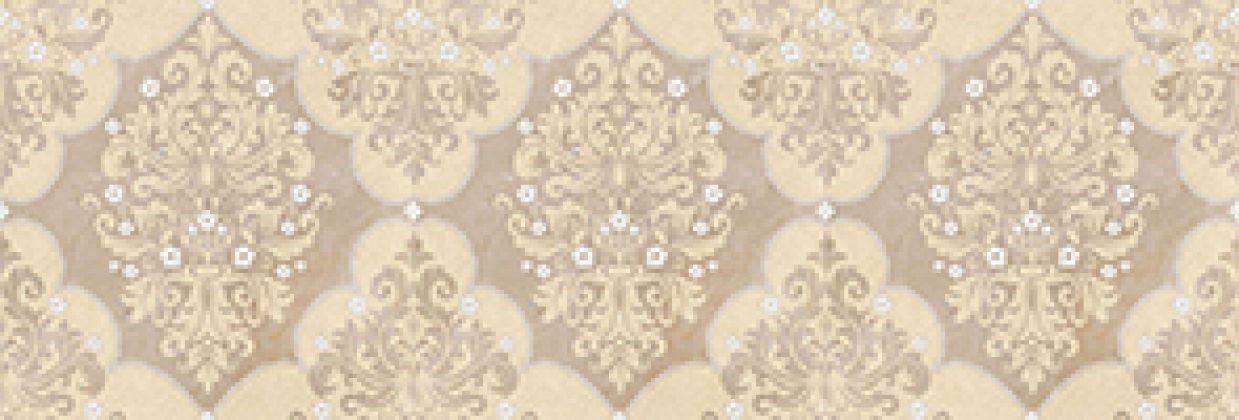 Магриб Бордюр настенный коричневый 1508-0005 8,5x25