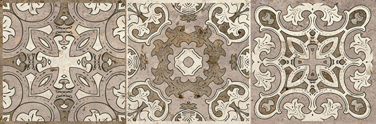 Травертино Декор напольный 3606-0016/3064-0004 19,9x60,3
