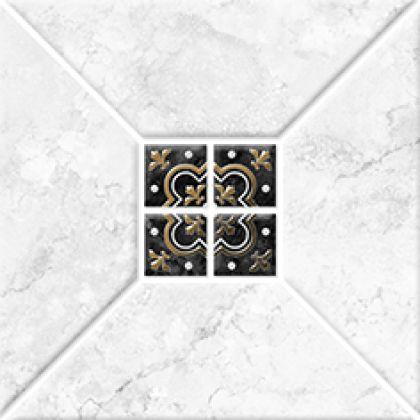 Риальто 1 тип 2 Декор золото 2х2 20x20