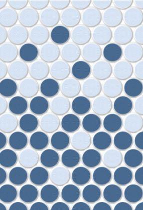 Блэйз 2 Плитка настенная синий 27,5x40