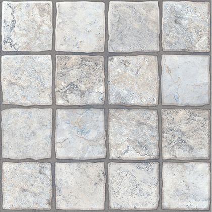 Карфаген 1 Керамогранит светло-серый 4х4 40x40