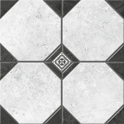 Лимбург 7 Керамогранит белый 4х4 40x40