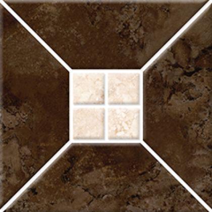 Риальто 3Т тип 2 Плитка настенная коричневая 2х2 20x20