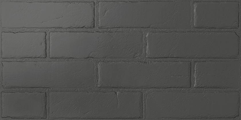 Манчестер 5 Керамогранит чёрный 3х6 30x60
