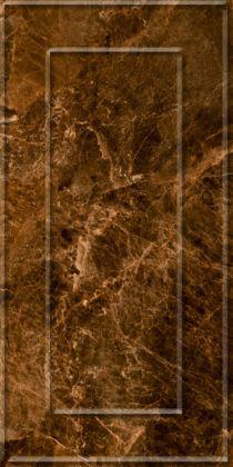 Букингем 3Д Плитка настенная коричневая 3х6 30x60