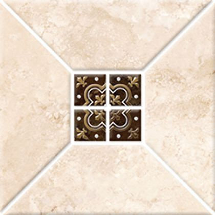 Риальто 3 тип 2 Декор золото 2х2 20x20