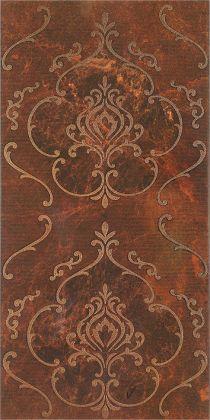 Букингем 3Т Панно коричневый 3х6 30x60