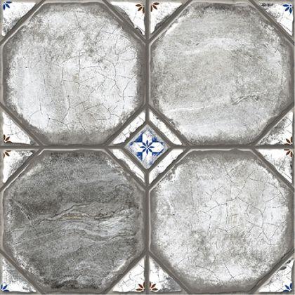 Брюгге 1 Керамогранит серый 4х4 40x40