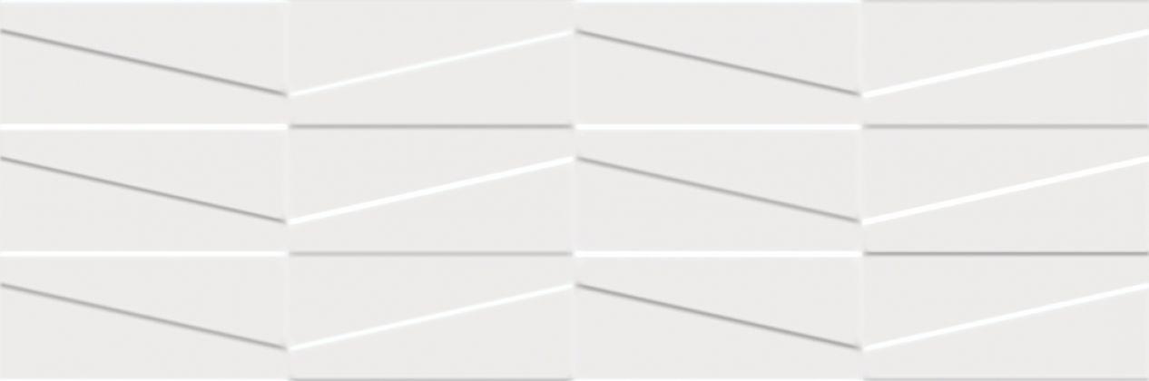 Tel Awiv Bianco Struktura C Плитка настенная 29,8x89,8