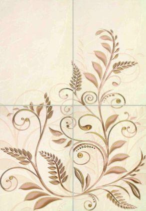 Emelie Панно (комплект из 4 элементов) 50,0х72,0 50x72