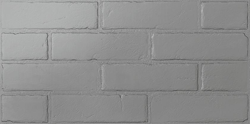 Манчестер 6 Керамогранит однотон серый 3х6 30x60