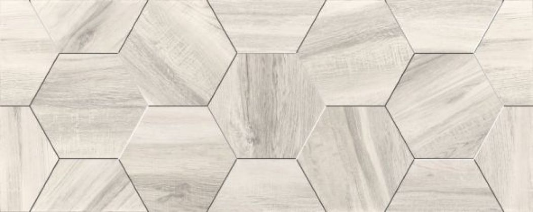 Миф 7 Плитка настенная белый 20x50