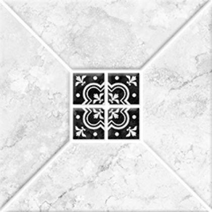 Риальто 1С тип 2 Плитка настенная серая 2х2 20x20