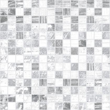 Extra Мозаика серый+белый 30x30