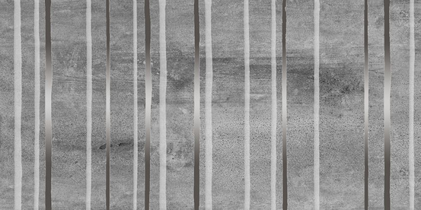 Concrete Trigger Декор тёмно-серый 30x60
