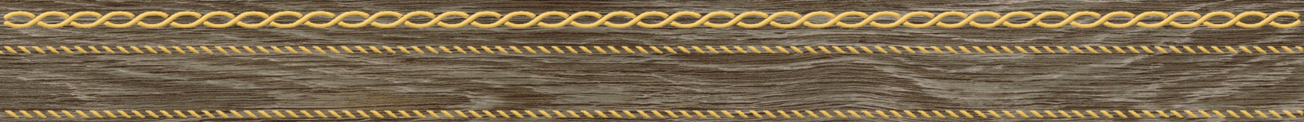 Genesis Бордюр коричневый 6x60