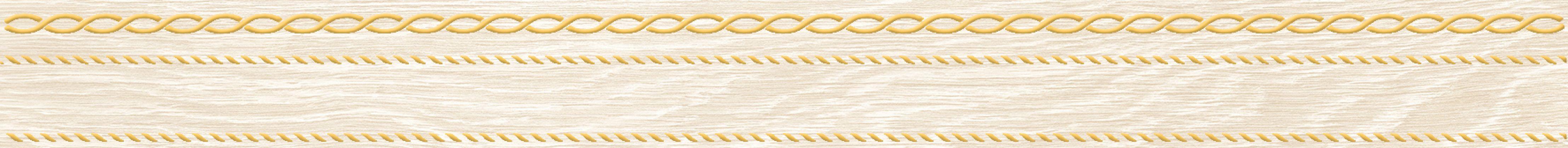 Genesis Бордюр бежевый 6x60
