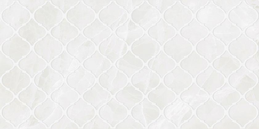 Plazma Nuance Декор белый 30x60