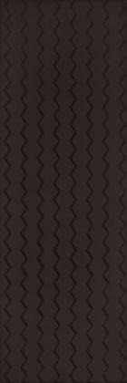Margarita Nero Struktura B Плитка настенная 32,5x97,7