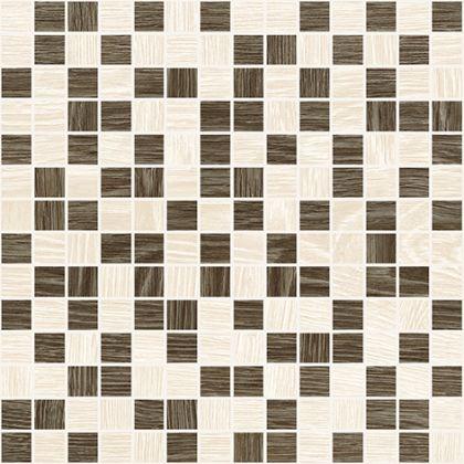 Genesis Мозаика коричневый+бежевый 30x30