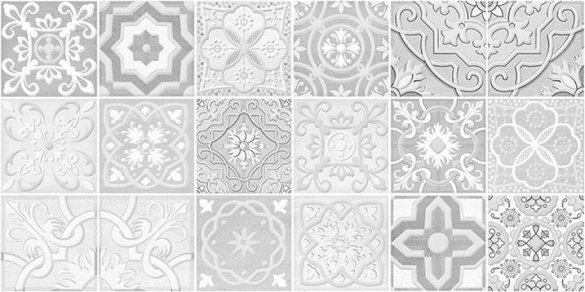 Concrete Module Декор серый 30x60