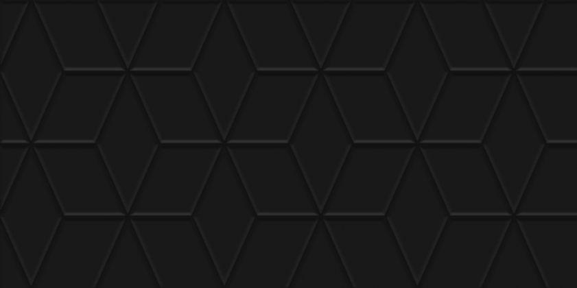 Tabu Плитка настенная чёрный рельеф 30x60