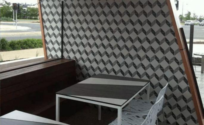 ART DECO Fluoro ottagono 10x10