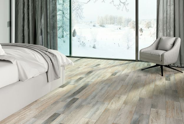 Cimic Wood Керамогранит Серый K-2034/SR/ 20x60