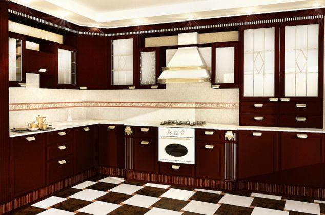 Флориан 3Т Плитка настенная коричневый 27,5x40