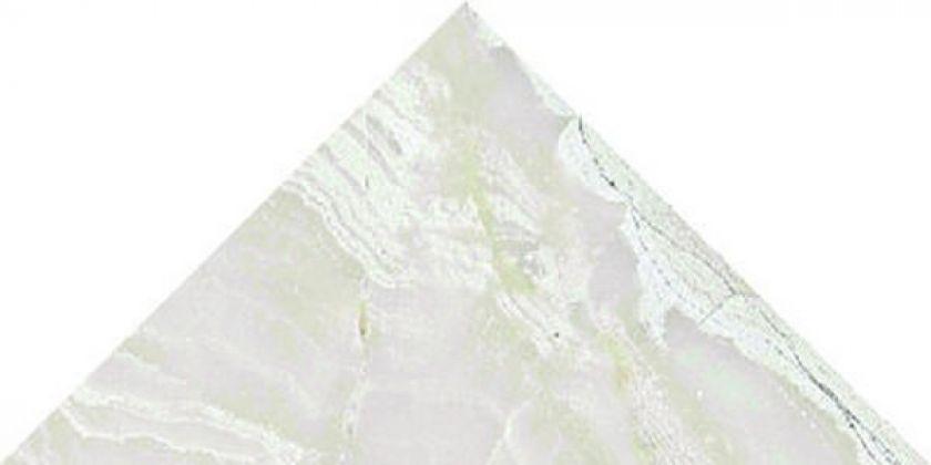 PETRA Dec. треугольник Silver Brillo Bisel 15x15